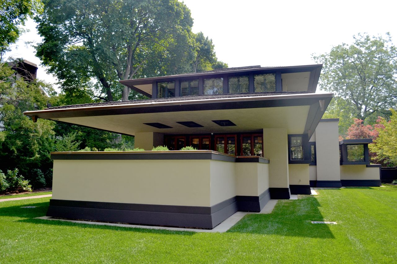 Growing Up In A Frank Lloyd Wright House Local Author