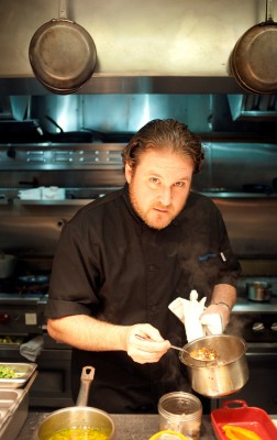 MB Post chef David LeFevre celebrated his restaurant's fifth year anniversary last week. Photo by Chelsea Schreiber