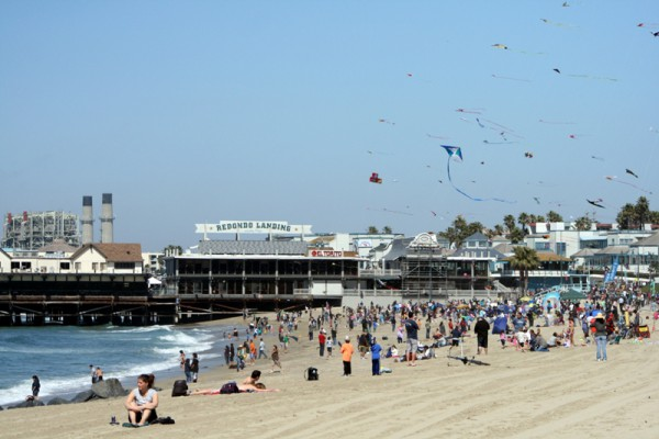 The weather was perfect for the 39th Annual Festival of the Kite in Redondo Beach on Sunday. Photo by Rachel Reeves