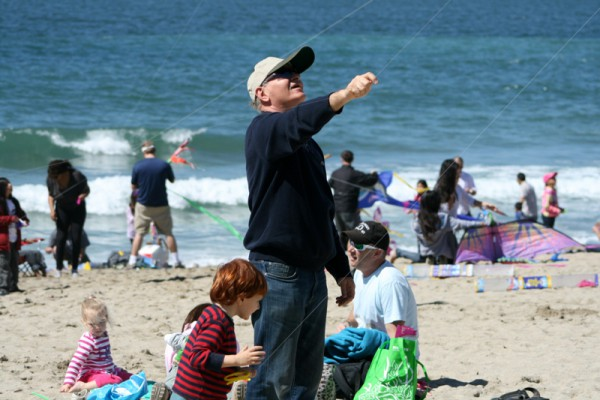 People packed the beach for the 39th Annual Festival of the Kite. Photo