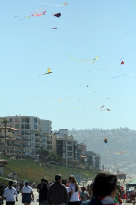 The Redondo Pier was packed on Sunday for the 39th Annual Festival of the Kite. Photo
