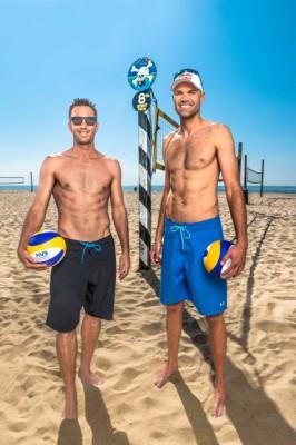 Rosenthal, Dalhausser beach volleyball