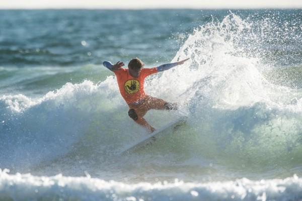 Dane Zaun dominates the day. Photo by Ken Pagliaro