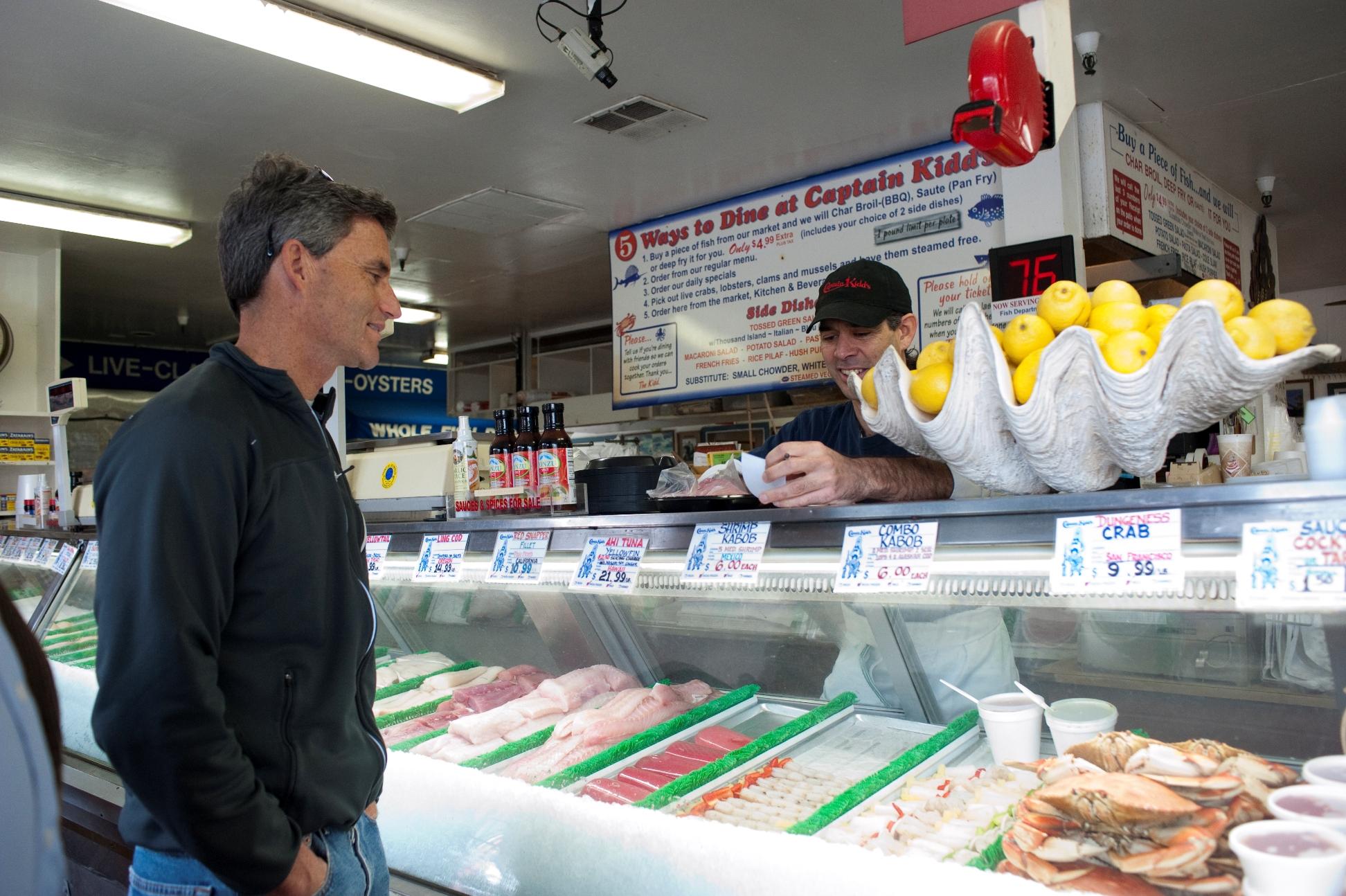 Best fish & chips: Captain Kidd's Fish Market