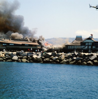Nearly 34,000 square feet of the horseshoe section of the Redondo Beach Pier burned down 25 years ago this week.