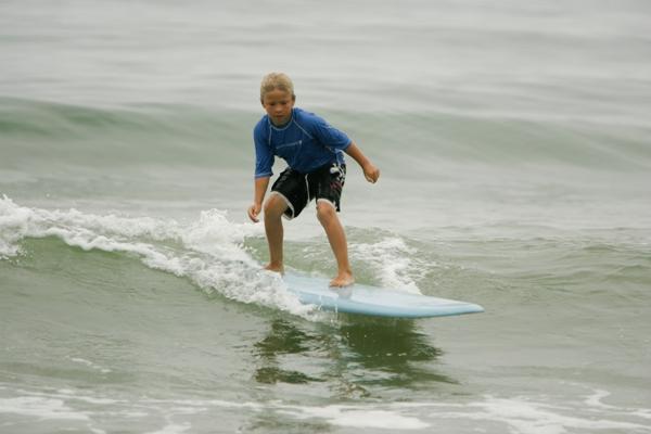 Ethan Emery enjoying every minute of PV Surf. Photo courtesy of PV Surf.