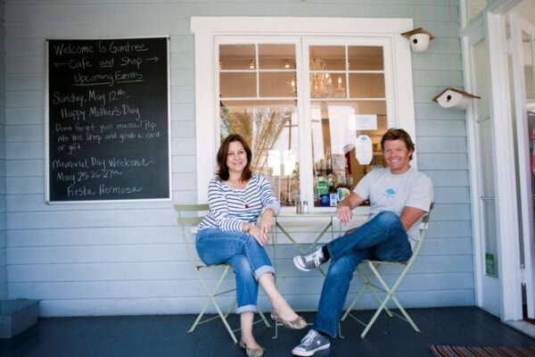 Lori and Will Ford own Gumtree in Hermosa Beach that features many local artists. Photo by Chelsea Sektnan