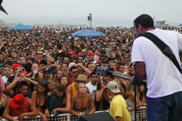 Hermosa Beach's Concerts on the Beach have become one of the South Bay's signature musical events. Photo by Jim Cody