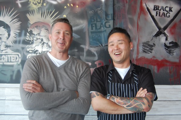 Restaurateur Jed Sanford and Chef Tin Vuong are partnering for a new venture close to their hearts. Photo by Esther Kang