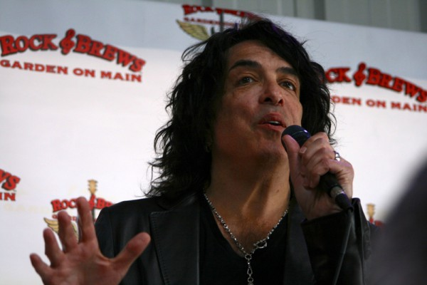 Paul Stanley of Kiss speaks about Rock & Brews' commitment to charity. Photo by Rachel Reeves