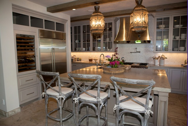 The home features radiant heat floors throughout and a casual, rustic charm.