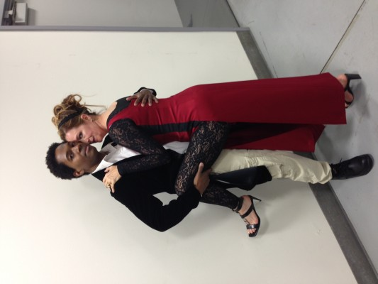 Watch out for that woman, she can make you do anything. Long Beach Opera presents Macbeth by Ernest Bloch (and you thought it was Shakespeare!). Nmon Ford as Macbeth with Suzan Hanson as Lady Macbeth, June 22 and 23 at 8 p.m. performed in a terminal building (I'll say) in the Port of LA. 562-432-5934 or longbeachopera.org for tickets, info.  Photo by Andreas Mitisek