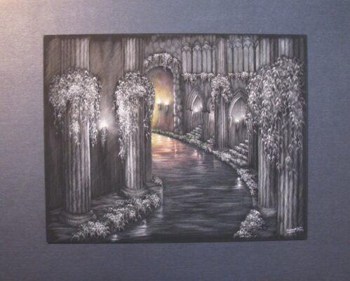 """Subterranean Dawn,"" by Andrea Schouten"