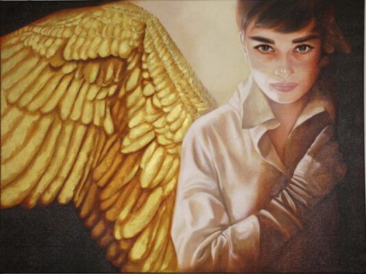 """""""Audrey the Angel,"""" by Margaret Korona"""