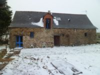 snow in Brittany