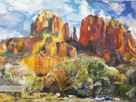 """Sedona,"" by Eve Pericich, is among the works in ""A Summer with the Ladies,"" featuring art by nine artists, through July 14 at 608 North, located at 608 N. Francisca Ave., Redondo Beach. (310) 376-5777 or go to 608north.com."