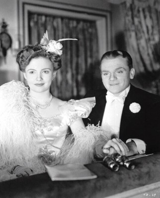 "Joan Leslie and James Cagney star in ""Yankee Doodle Dandy"" (1942), screening this Friday and Saturday at 8 p.m., plus Saturday and Sunday at 2:30 p.m., in the Old Town Music Hall, 140 Richmond St., El Segundo. Tickets, $10 general; $8 seniors. (310) 322-2592 or go to OldTownMusicHall.org."