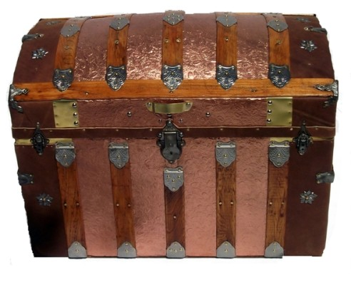 """Kathleen,"" restored trunk by Randall Barbera"