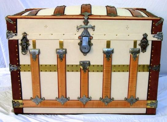 """Secor,"" restored trunk by Randall Barbera"