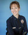 LAPD Commander Sharon Papa, the next chief of police in Hermosa Beach.