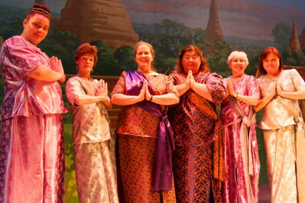 A few of the many wives of The King of Siam. Photo by Kris Maine