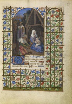 """""""The Adoration of the Magi"""" (c.1480-85), by Jean Bourdichon. Courtesy of The J. Paul Getty Museum, Los Angeles"""