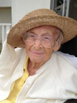Bonita Zigrang celebrated her 109th birthday last week. Photo courtesy Richard Zigrang
