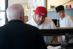Chef David LeFevre at FWD. Photos by Chelsea Sektnan