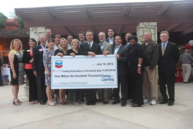 Chevron last week announced $1.6 million in grants for local schools. Photo