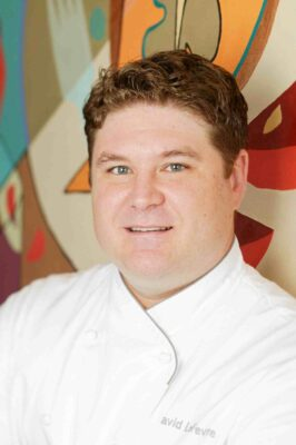 Chef David LeFevre in his Water Grill days.