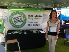 Heidi Butzine, the founder of ShopLocal.us
