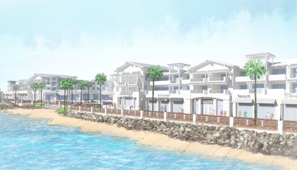 A boutique hotel is part and parcel of the proposed waterfront redesign. Photo courtesy of CenterCal