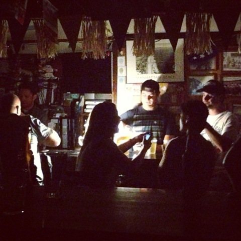 The Shellback Tavern could not be slowed by a mere blackout. Photo by Patrick T. Fallon