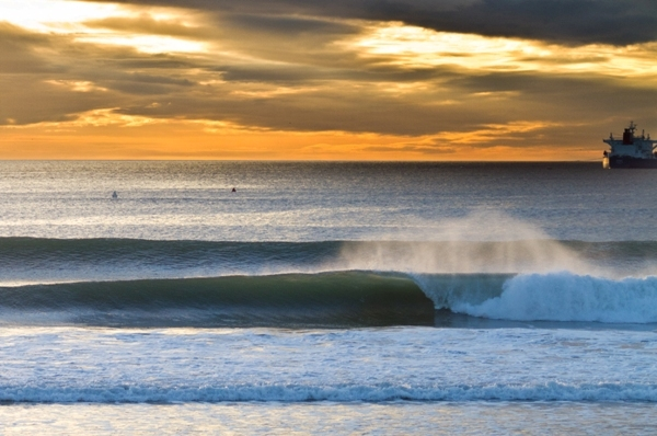 """Broza's nomination for Surfline's """"Photo of the month"""" and a popular fundraiser donation framed piece."""