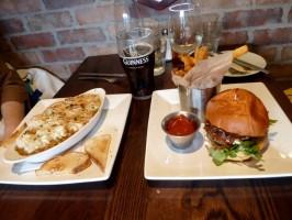 Lunch at Mickey McColgan's. Photo by Richard Foss