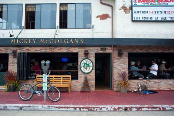 Mickey McColgan's, named after Hermosa Beach's late great Mick McColgan. Photo by Chelsea Sektnan