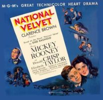 """""""National Velvet,"""" the 1944 film starring a very young Elizabeth Taylor, along with Mickey Rooney, screens at 8:15 on Friday and Saturday, as well as 2:30 p.m. on Saturday and Sunday, in the Old Town Music Hall, 140 Richmond St., El Segundo. Tickets, $10 general and $8 seniors over 62 (if you're a senior under 62, tough luck). Call (310) 322-2592 or go to OldTownMusicHall.org."""