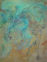 """""""Push & Flow"""" continues through Oct. 10 at the Creative Arts Center, 1560 Manhattan Beach Blvd., MB. Pictured, work by Elizabeth Casuga. (310) 802-5440 or go to citymb.info"""