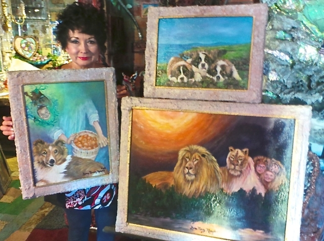 """Dora Perez Meyer is selecting from her latest animal paintings for """"Animals – Wild and Domestic,"""" opening on Friday at Summer Studios Arts, 2161 Lomita Blvd., Lomita. The reception is from 7 to 9:30 p.m. Call (310) 325-8801"""