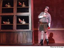James Gruessing stars as Franz Liebkind. Photo by Ed Krieger