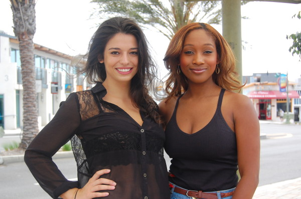 Mollie Thomas, 20, and Tracy Francis, 27, are former Miss California USA contestants and co-directors of the new Miss Manhattan Beach Pageant, slated for next spring. Photo by Esther Kang