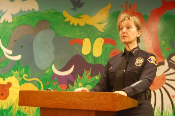 Hermosa Beach's new police chief Sharon Papa