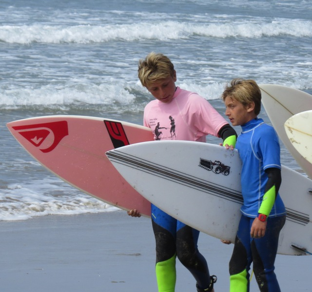 Brothers grom Zachary and Jake Rosenberg are heading up a fundraiser for the Jimmy Miller Memorial Foundation. Photo by Aaron Rosenberg