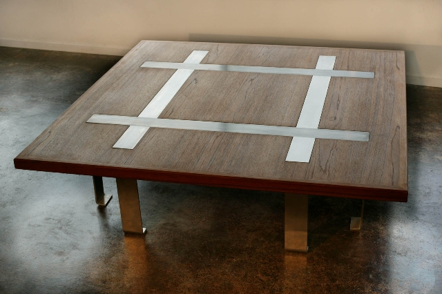 A Blair Townsend-designed teak table