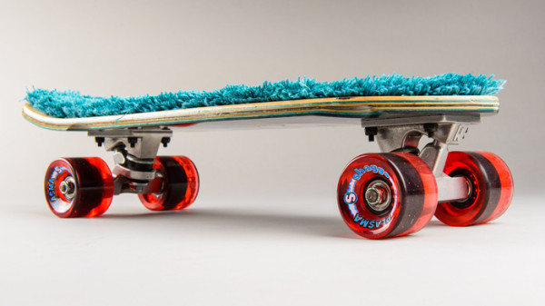 """The Shaggo Grom is 22 inches long and 7.5 inches wide and comes in six """" six shagalicious flavors."""""""