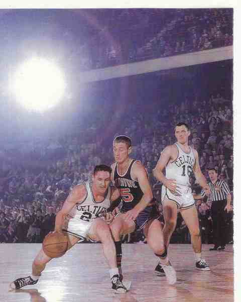 """Battling Bill"" Sharman won a record 17 NBA championship rings, four as a player with the Celtics and the rest as a Laker coach and executive. Photo courtesy the Sharman family"