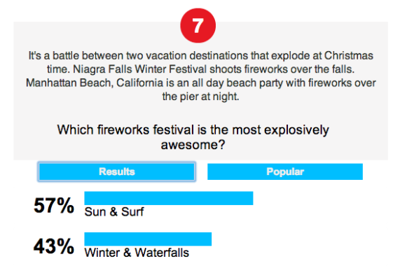 Manhattan Beach's fireworks extravaganza leads in the Travel Channel Jingle Brawls online polls. (travelchannel.com/tv-shows/jingle-brawls-vote)