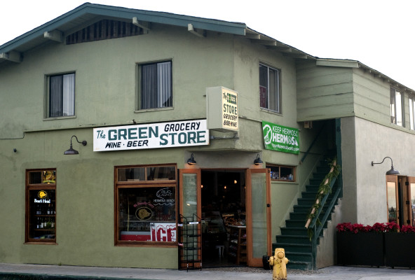 The newly renovated Green Store in Hermosa Beach. Photo by Chelsea Schreiber