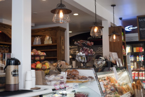 Deli sandwiches and specility coffees are also new options at the Green Store. Photo by Chelsea Schreiber