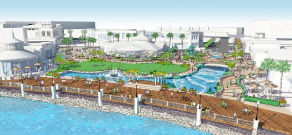 CenterCal's 15-acre, $300 million proposal for Redondo's water front was unveiled in March.